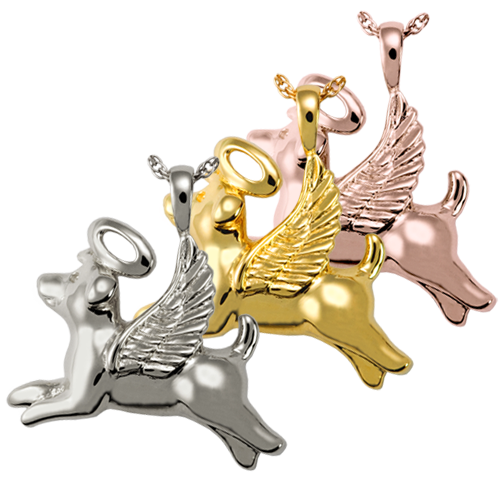 Angel Dog Pet Cremation Jewelry-Jewelry-New Memorials-Afterlife Essentials