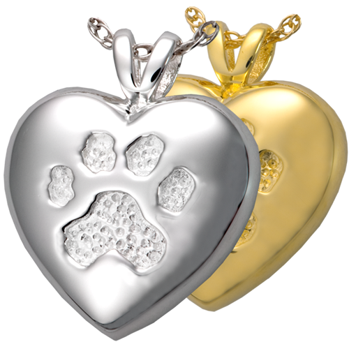 A Touch Of Your Paw Pet Cremation Jewelry-Jewelry-New Memorials-Afterlife Essentials