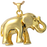 Elephant Never Forgets Cremation Jewelry-Jewelry-New Memorials-14K Gold Plating (14K over sterling silver)-Afterlife Essentials