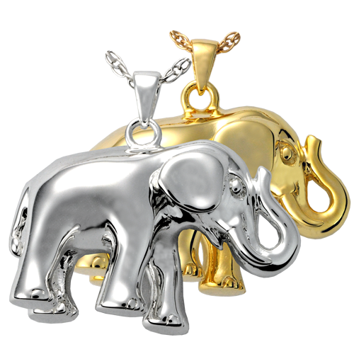 Elephant Never Forgets Cremation Jewelry-Jewelry-New Memorials-Afterlife Essentials