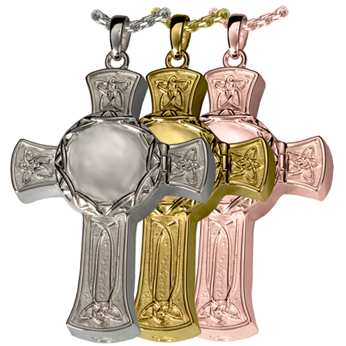 Celtic Cross Photo Pendant Cremation Jewelry-Jewelry-New Memorials-Afterlife Essentials