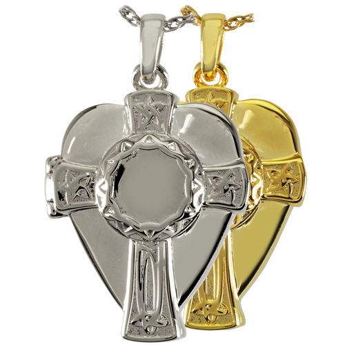 Celtic Warrior Cross And Shield Cremation Jewelry-Jewelry-New Memorials-Afterlife Essentials