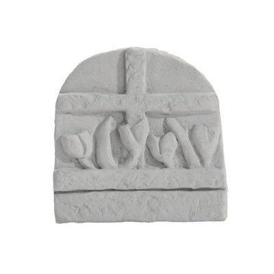 Cross w/flowers… Memorial Gift-Memorial Stone-Kay Berry-Afterlife Essentials