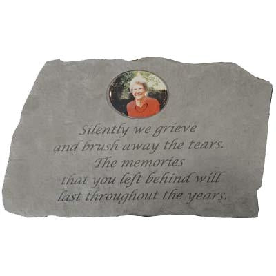 Silently we… Memorial Gift-Memorial Stone-Kay Berry-Afterlife Essentials