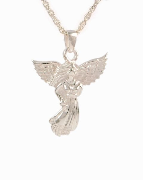Sterling Silver Angel Cremation Jewelry-Jewelry-Cremation Keepsakes-Afterlife Essentials