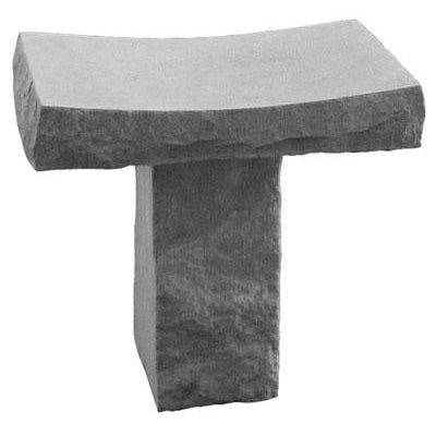 Saddle Bench Plain Memorial Gift-Memorial Stone-Kay Berry-Afterlife Essentials