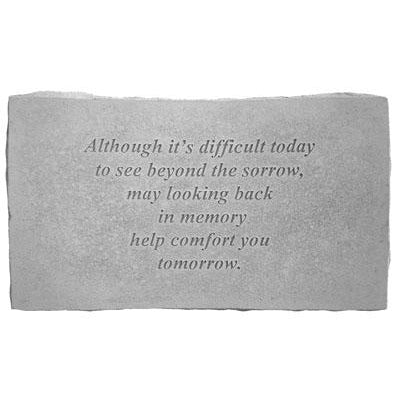 Although it's… Memorial Gift-Memorial Stone-Kay Berry-Afterlife Essentials