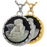 Angel In Heaven Cameo Black Cremation Jewelry-Jewelry-New Memorials-Afterlife Essentials