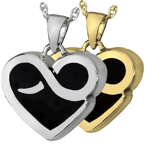 Infinity Heart Cremation Jewelry-Jewelry-New Memorials-Afterlife Essentials