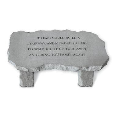 If tears could build… Memorial Gift-Memorial Stone-Kay Berry-Afterlife Essentials