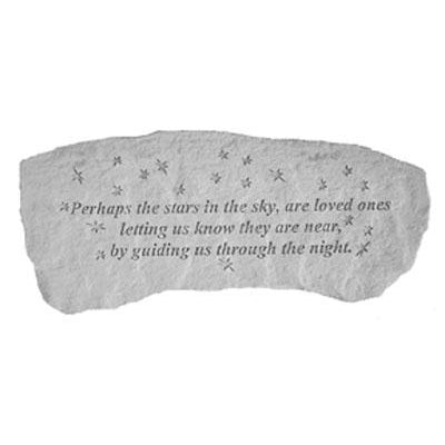 Perhaps the stars in the sky… Memorial Gift-Memorial Stone-Kay Berry-Afterlife Essentials