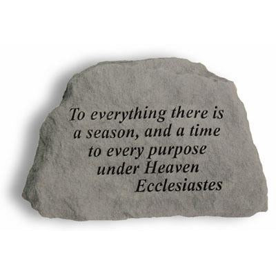 To everything there… Memorial Gift-Memorial Stone-Kay Berry-Afterlife Essentials