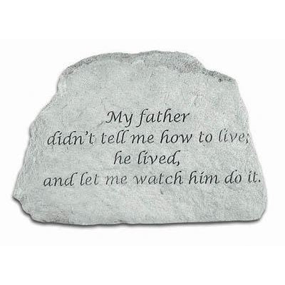 My father… Memorial Gift-Memorial Stone-Kay Berry-Afterlife Essentials