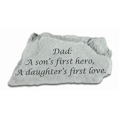 Dad: A son's first… Memorial Gift-Memorial Stone-Kay Berry-Afterlife Essentials