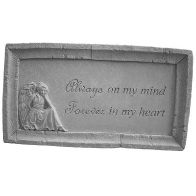 Always on my mind… Memorial Gift-Memorial Stone-Kay Berry-Afterlife Essentials