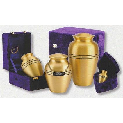 "507/6"" Classic Solid Brass Cremation Urn-Cremation Urns-Urns of Distinction-Afterlife Essentials"