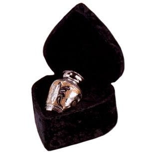"509/3"" Silver/Gold Cremation Urn-Cremation Urns-Urns of Distinction-Afterlife Essentials"