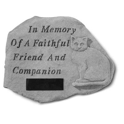 In Memory…w/cat Memorial Gift-Memorial Stone-Kay Berry-Afterlife Essentials