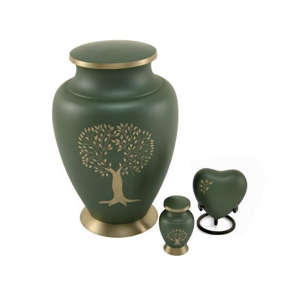 Aria Tree of Life 6 Keepsake Set with velvet box Cremation Urn-Cremation Urns-Terrybear-Afterlife Essentials