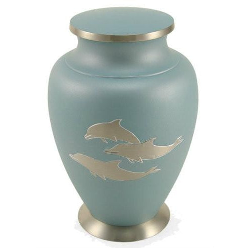 Aria Dolphin Large/Adult Cremation Urn-Cremation Urns-Terrybear-Afterlife Essentials