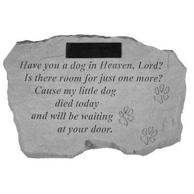 Have you a dog in… Memorial Gift-Memorial Stone-Kay Berry-Afterlife Essentials