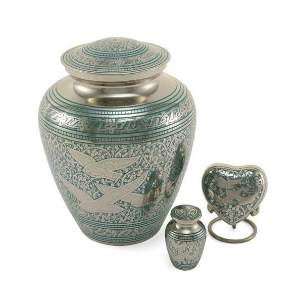 Elite Going Home Individual Keepsake with velvet bag Cremation Urn-Cremation Urns-Terrybear-Afterlife Essentials