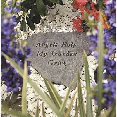 Angels Help… Memorial Gift-Memorial Stone-Kay Berry-Afterlife Essentials