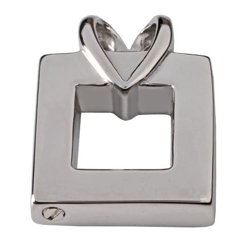 Stainless Steel Wrapped In Love Pendant Cremation Jewelry-Jewelry-New Memorials-Afterlife Essentials