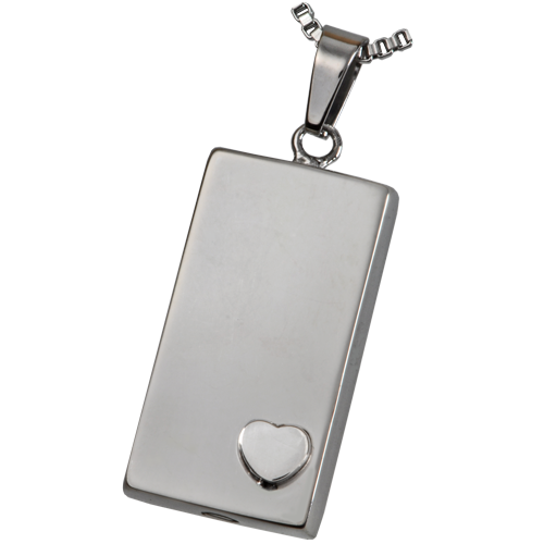 Stainless Steel Heart Of Foundation Pendant Cremation Jewelry-Jewelry-New Memorials-Afterlife Essentials