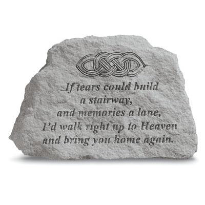 If tears…w/celtic knot Memorial Gift-Memorial Stone-Kay Berry-Afterlife Essentials