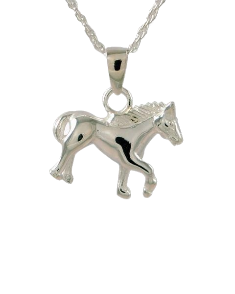 Sterling Silver Horse Cremation Jewelry-Jewelry-Cremation Keepsakes-Afterlife Essentials