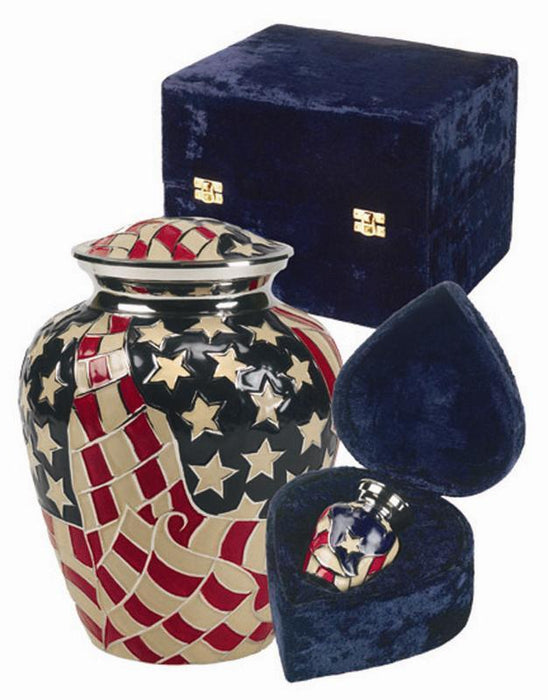 "718/10"" American Cremation Urn-Cremation Urns-Urns of Distinction-Afterlife Essentials"