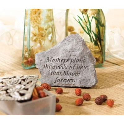 Mothers plant the seeds… Memorial Gift-Memorial Stone-Kay Berry-Afterlife Essentials