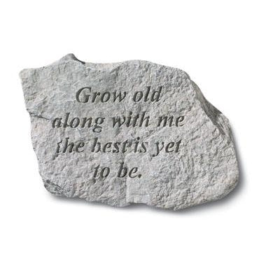 Grow old along with me… Memorial Gift-Memorial Stone-Kay Berry-Afterlife Essentials