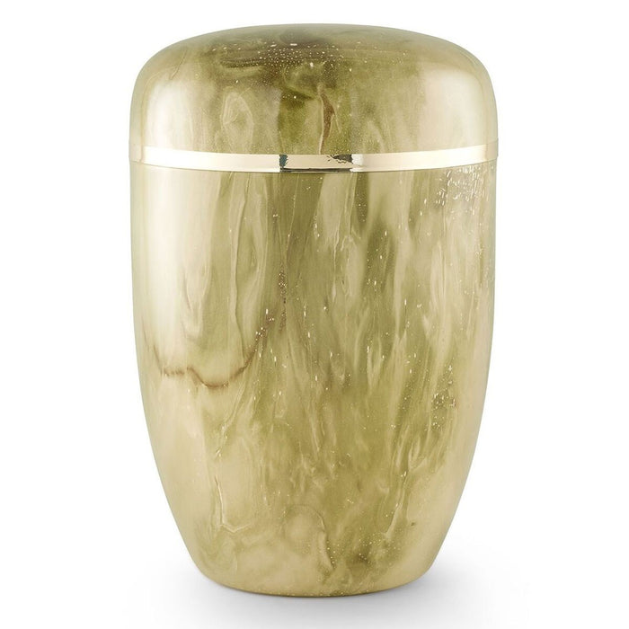 Solace Series Lemongrass 305 cu in Cremation Urn-Cremation Urns-Infinity Urns-Afterlife Essentials