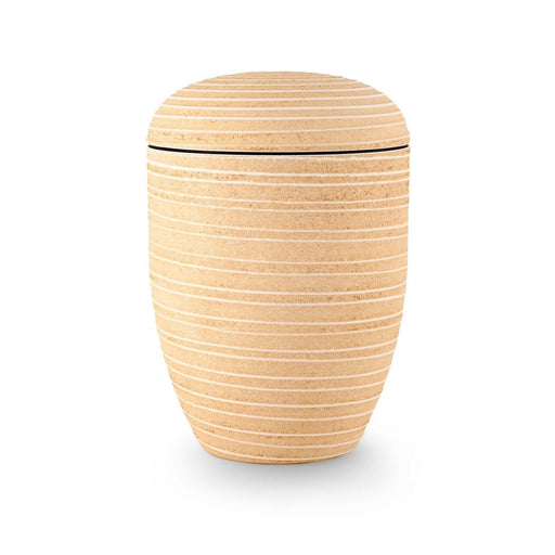 Canyon Wall Series Sand Stone Biodegradable 305 cu in Cremation Urn-Cremation Urns-Infinity Urns-Sand Stone-Afterlife Essentials