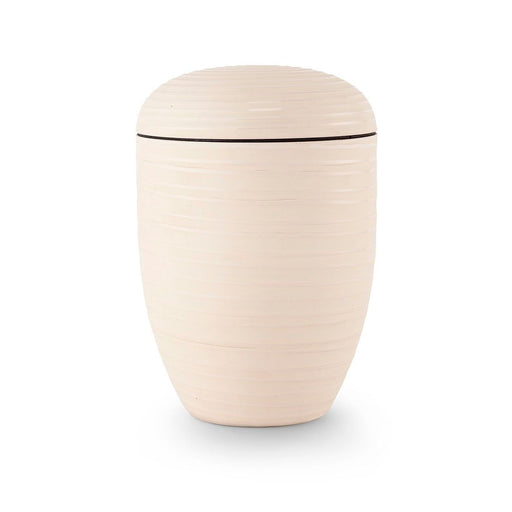 Canyon Wall Series Cream Biodegradable 305 cu in Cremation Urn-Cremation Urns-Infinity Urns-Cream-Afterlife Essentials