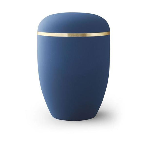 Amos Series Biodegradable Navy Blue 305 cu in Cremation Urn-Cremation Urns-Infinity Urns-Navy Blue-Afterlife Essentials