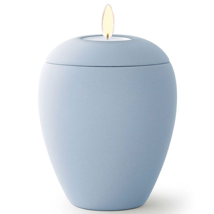 Kaleidoscope Candle Cremation Urn-Cremation Urns-Infinity Urns-Sky Blue-Afterlife Essentials