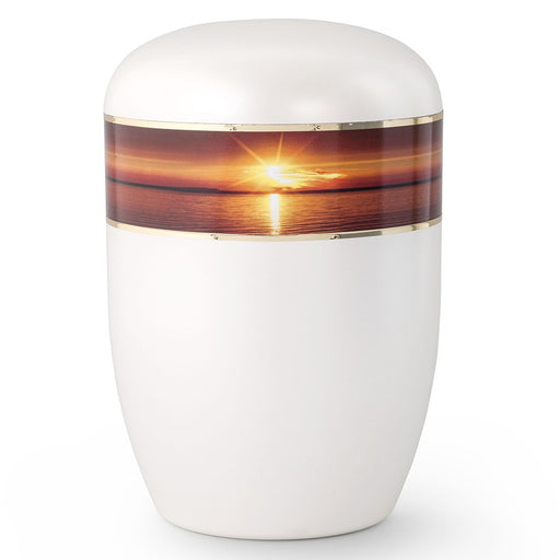 Biodegradable Series Sunset 210 cu in Cremation Urn-Cremation Urns-Infinity Urns-Afterlife Essentials