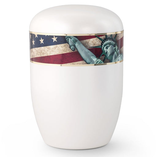 Biodegradable Series Statue of Liberty 210 cu in Cremation Urn-Cremation Urns-Infinity Urns-Afterlife Essentials