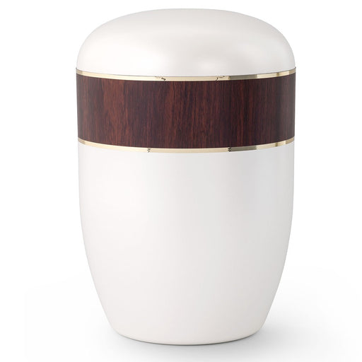 Biodegradable Series Dark Cherry 210 cu in Cremation Urn-Cremation Urns-Infinity Urns-Afterlife Essentials