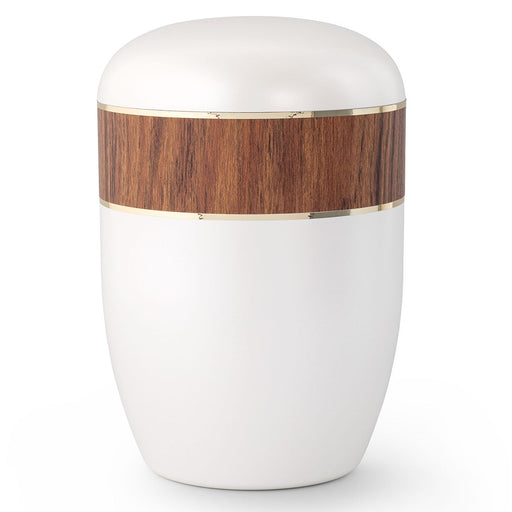Biodegradable Series Red Oak 210 cu in Cremation Urn-Cremation Urns-Infinity Urns-Afterlife Essentials