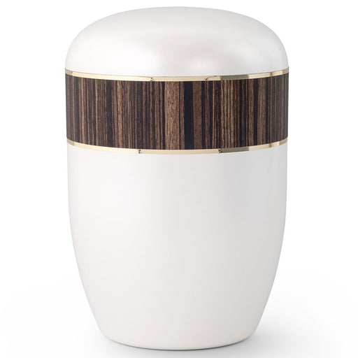 Biodegradable Series Zebrano 210 cu in Cremation Urn-Cremation Urns-Infinity Urns-Afterlife Essentials