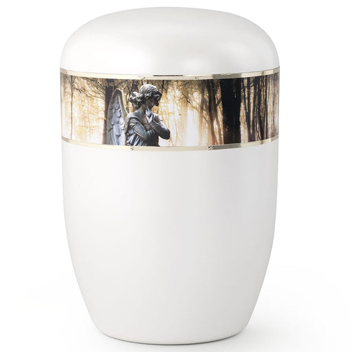 Biodegradable Series Angel 210 cu in Cremation Urn-Cremation Urns-Infinity Urns-Afterlife Essentials