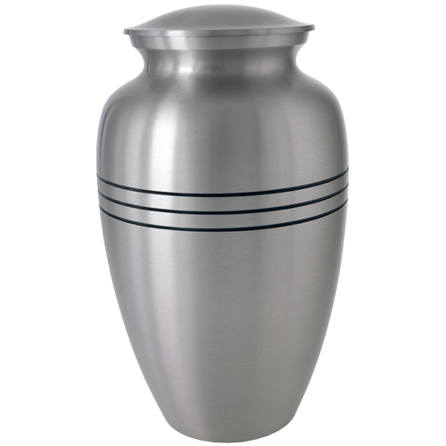 Traditional Pewter Series 200 cu in Cremation Urn-Cremation Urns-New Memorials-Afterlife Essentials