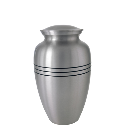 Traditional Pewter Series 35 cu in Cremation Urn-Cremation Urns-New Memorials-Afterlife Essentials