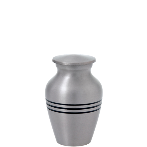 Traditional Pewter Series 3 cu in Cremation Urn-Cremation Urns-New Memorials-Afterlife Essentials