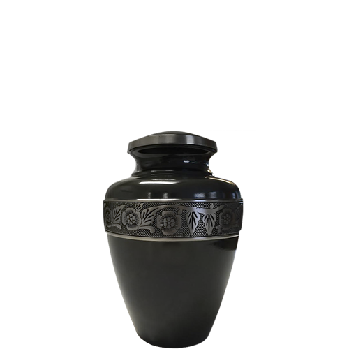 Gun Metal Grey Pet Mini 3 cu in Cremation Urn Keepsake-Cremation Urns-New Memorials-Afterlife Essentials