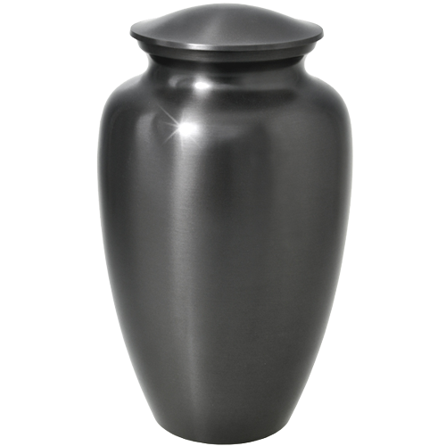 Simple Grey Cremation Urns - Afterlife Essentials